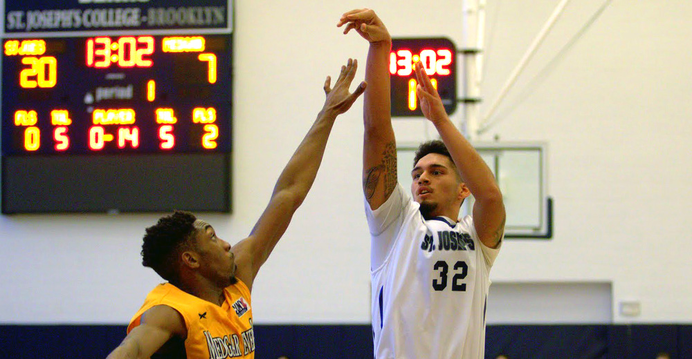 Men's Basketball Unable to Hand Yeshiva First League Setback