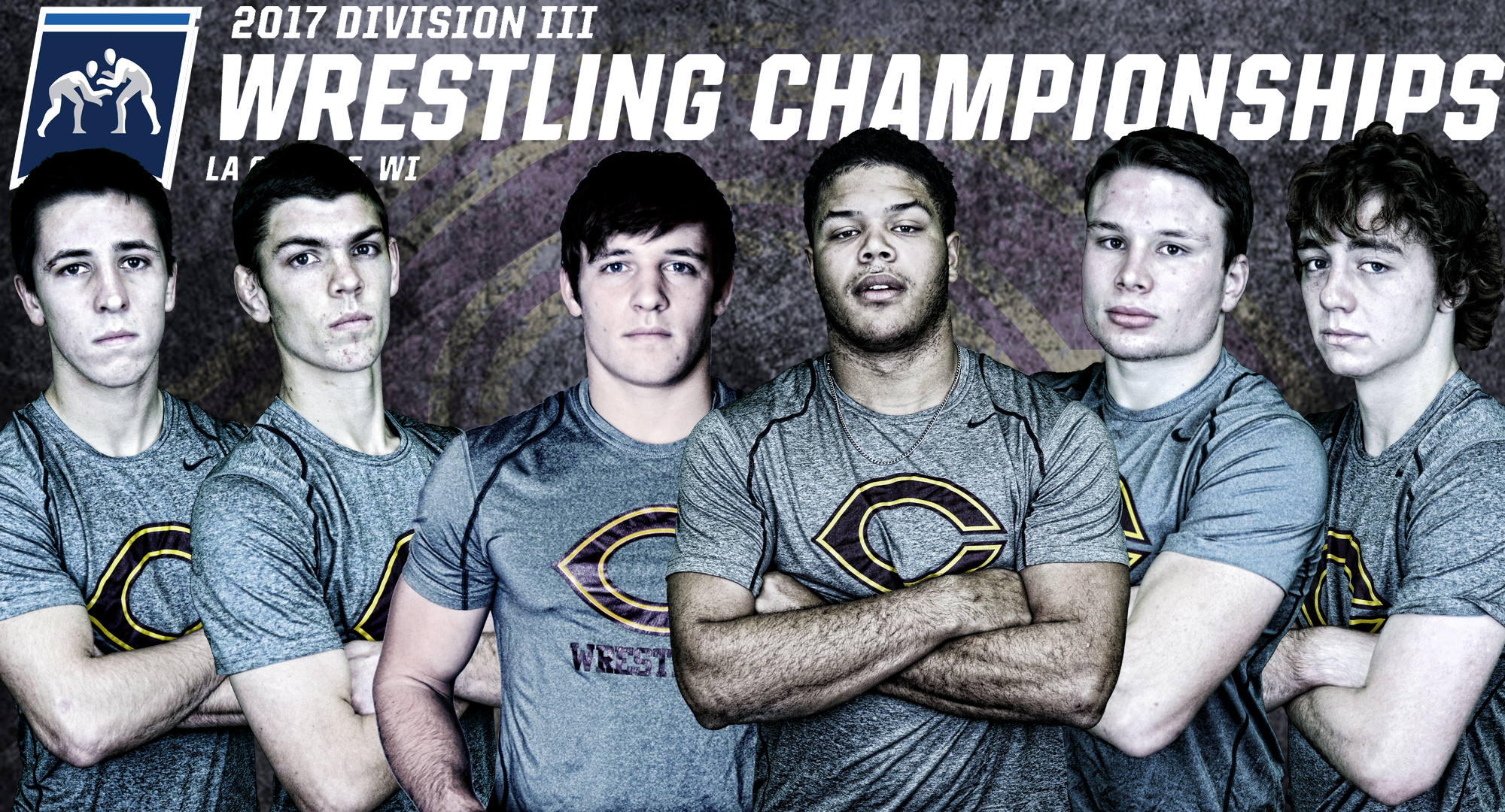 (L-R): Aaron Dick, Adam Presler, Cole Sladek, Justice Davis, Jake Johnson and Ty Johnson will all represent Concordia at the NCAA National Meet in La Crosse.