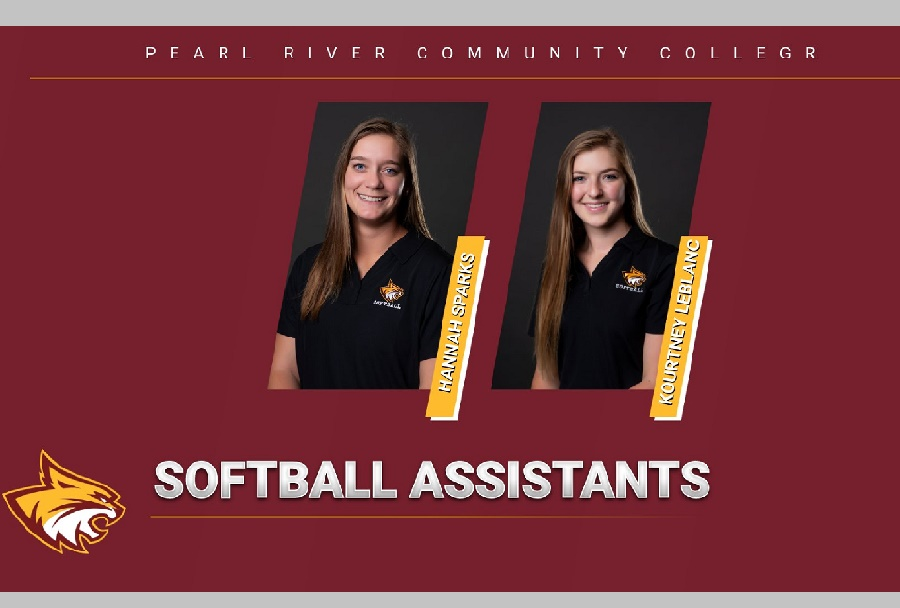 Pearl River softball has hired Hannah Sparks and Kourtney LeBlanc to its staff (KRISTI HARRIS/ PRCC