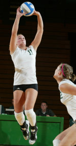 Vikings Set School Record For Hitting Percentage In Sweep Of Oakland