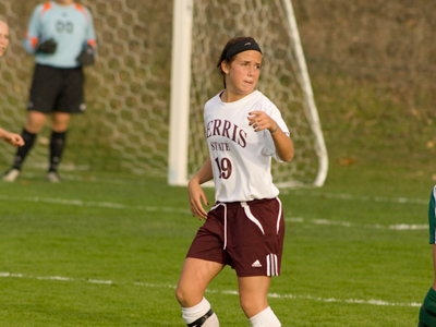 Senior Kara Lovelace's first goal of the season also proved to be the decisive one in Friday's win over Ashland.