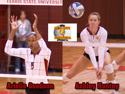 Goodson and Huntey Earn All-Tournament Team Recognition