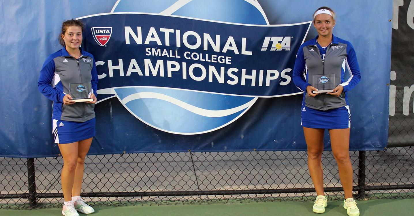 Super Bowl Bound: Willig and Bogolii Claim National Doubles Championship