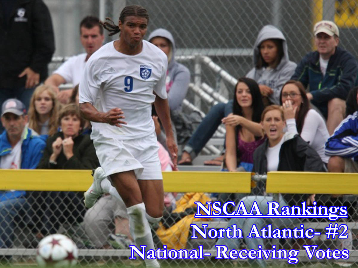 Men's Soccer Receiving Votes In National Poll