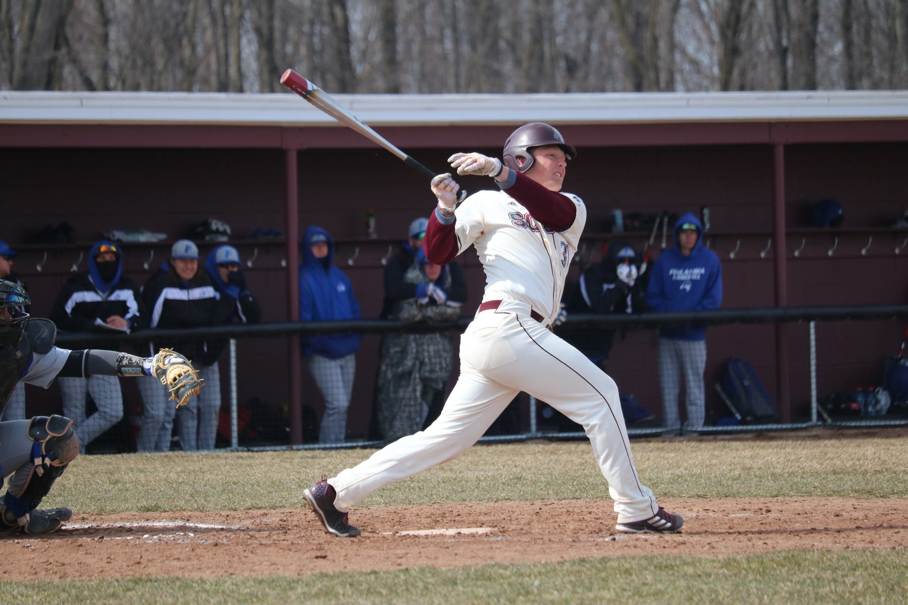 Baseball swept by Adrian in MIAA opener