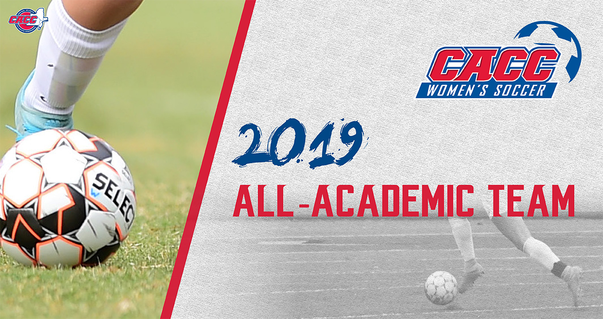 Seventy-Four Student-Athletes Earn CACC Women's Soccer All-Academic Team Honors for 2019