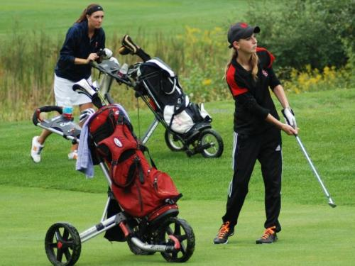 ... (MIAA) Jamboree #3 today at Milham Park Golf Course in Kalamazoo.