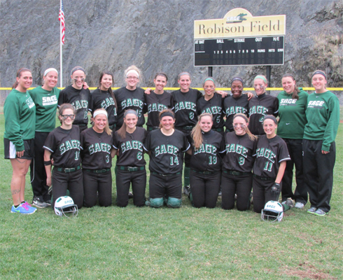 Sage clinches Skyline Softball Championship and rallies to beat MSMC, 5-4 in 8 innings