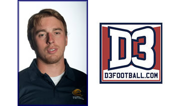 Samuelson Named to D3football.com Team of the Week
