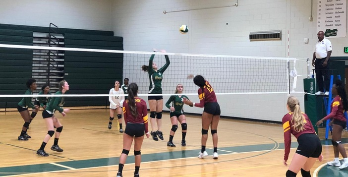 Volleyball team Match with  New Hampstead and Statesboro