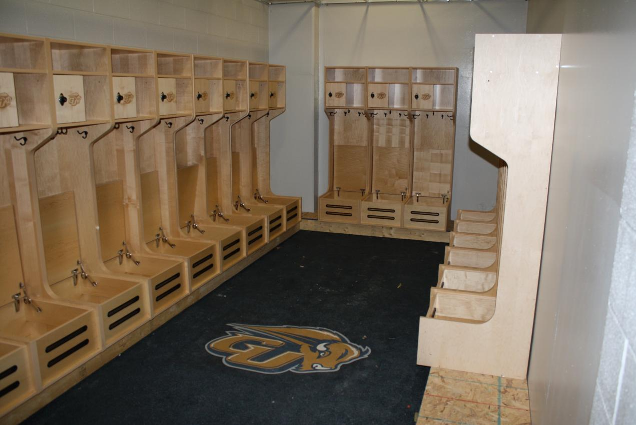 Baseball Locker Room Under Construction July 2011