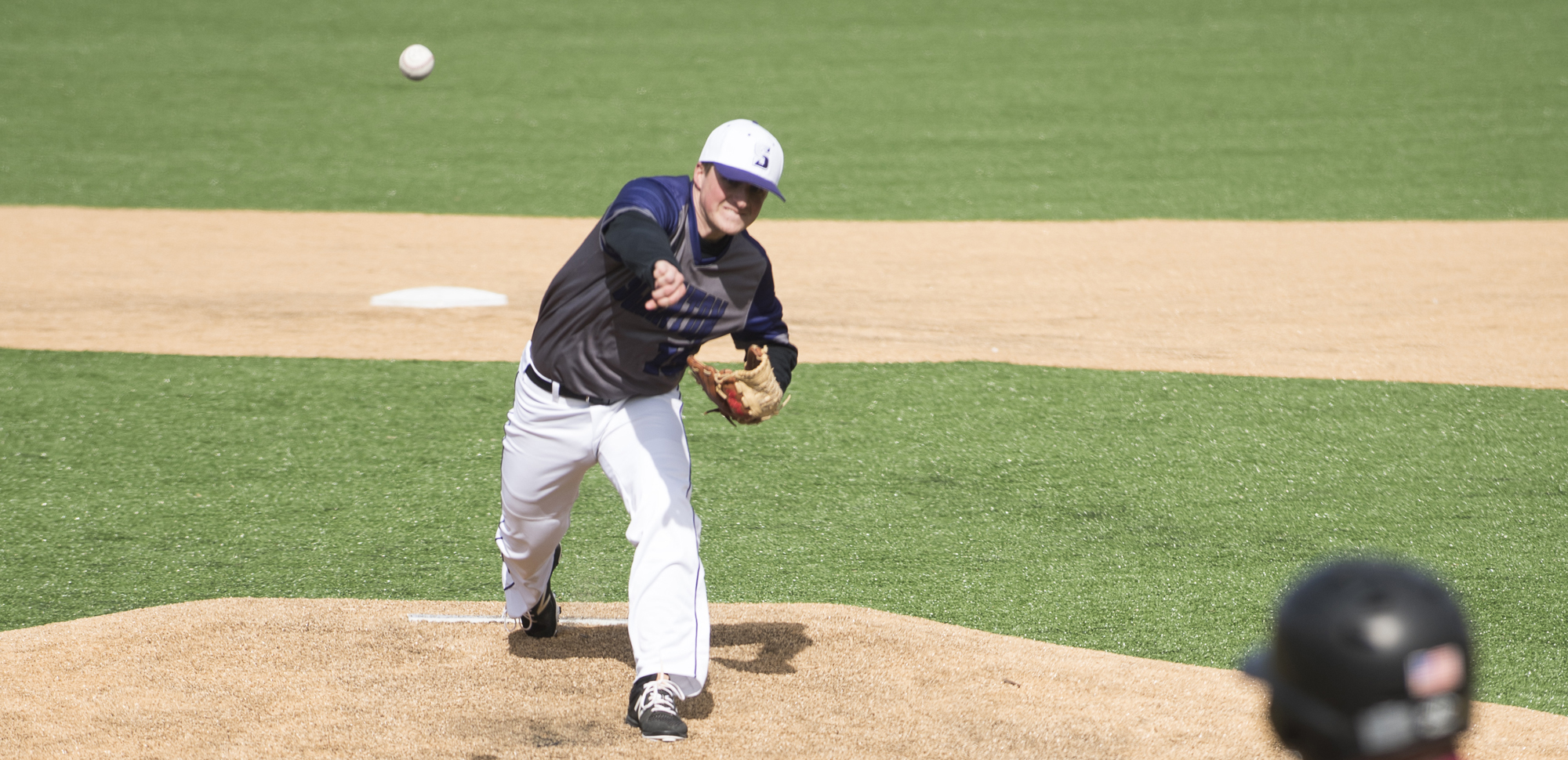 Junior Pat Rohr threw seven strong innings on Sunday to pick up his third win of the season.