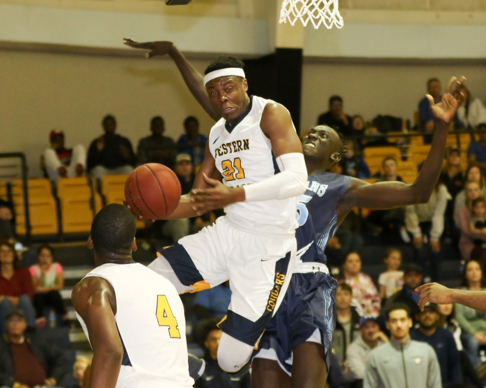 WNCC comes back to top Colby behind Green's 30 points