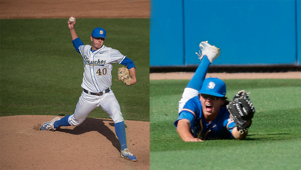 Summer Update: Pair of Gauchos Named NECBL All-Stars