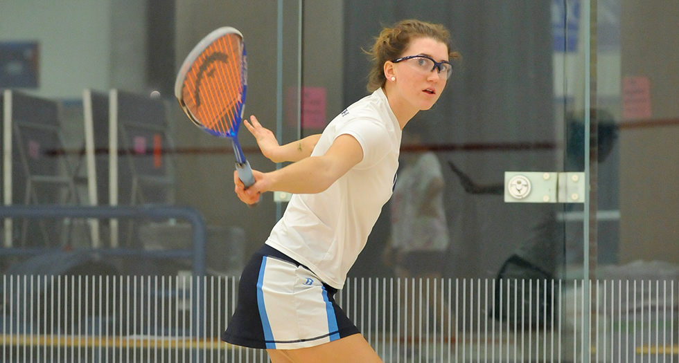 Squash Sweeps Conn. College and Vassar; Wins Third Straight