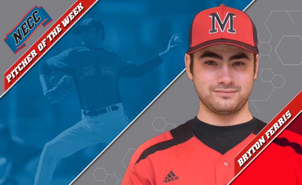 Baseball's Ferris Tabbed NECC Pitcher of the Week