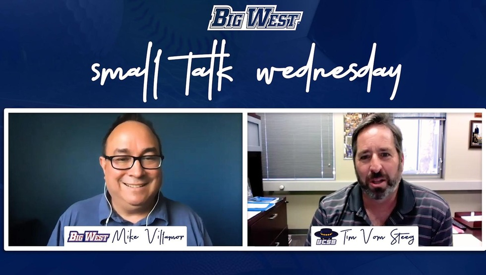 "HC Tim Vom Steeg Interviewed on Big West Conference's ""Small Talk Wednesday"" Series"