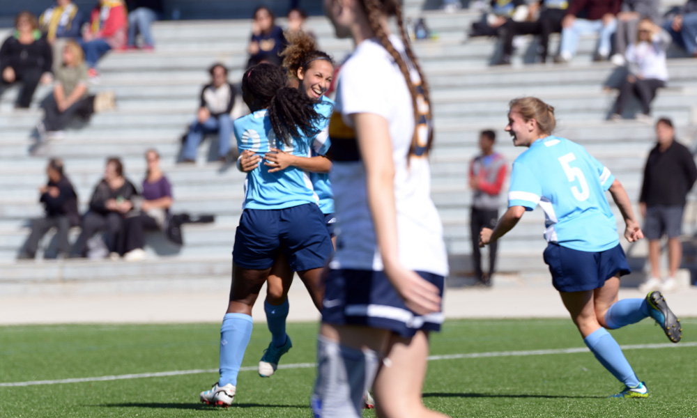 Women's soccer settle for draw against Humber in home finale