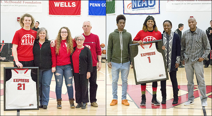 Men's Basketball Victorious On Senior Day