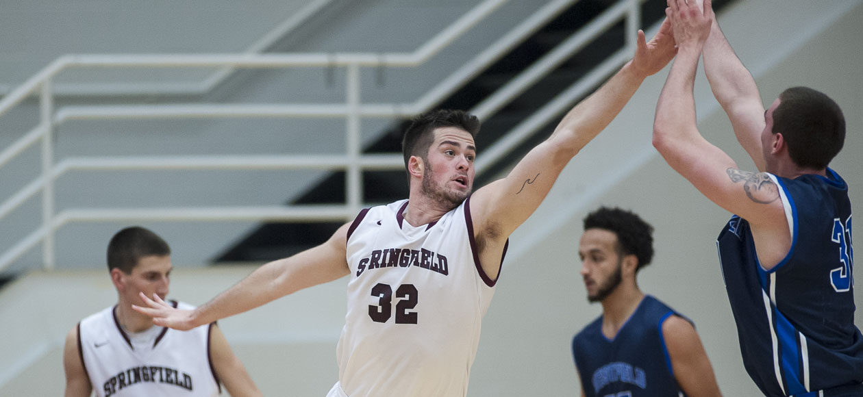 Men's Basketball Rallies For 85-82 Overtime Win Over Wheaton in NEWMAC Quarterfinals