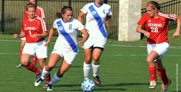 Ciesielczyk game-winner nets NACC Women's Soccer Weekly Award
