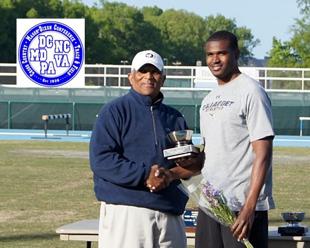 Gallaudet's Darius Flowers named Mason-Dixon men's field athlete of the meet, Bison finish sixth overall