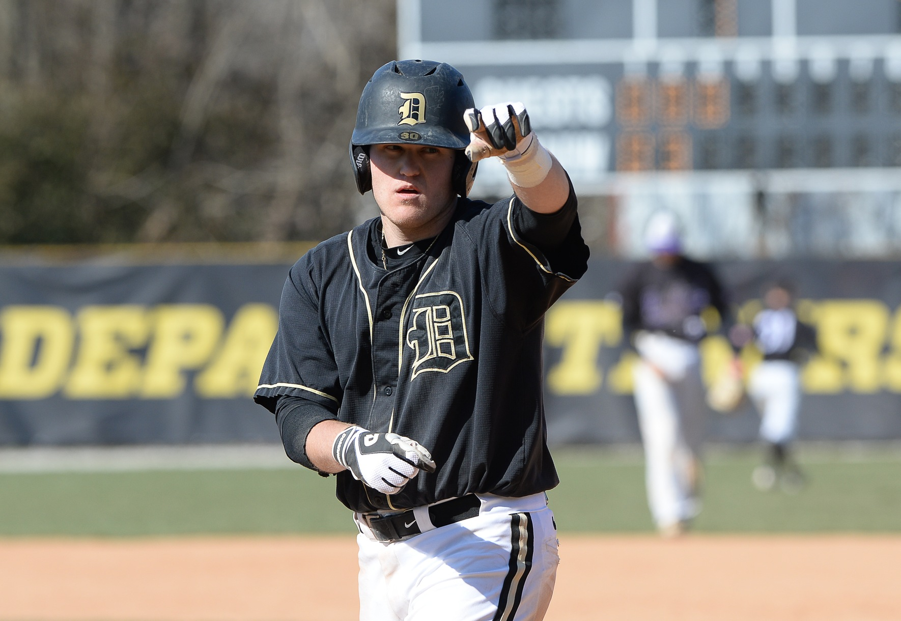 Hammel Hits Three Home Runs as DePauw Takes 3-of-4 Against Wittenberg