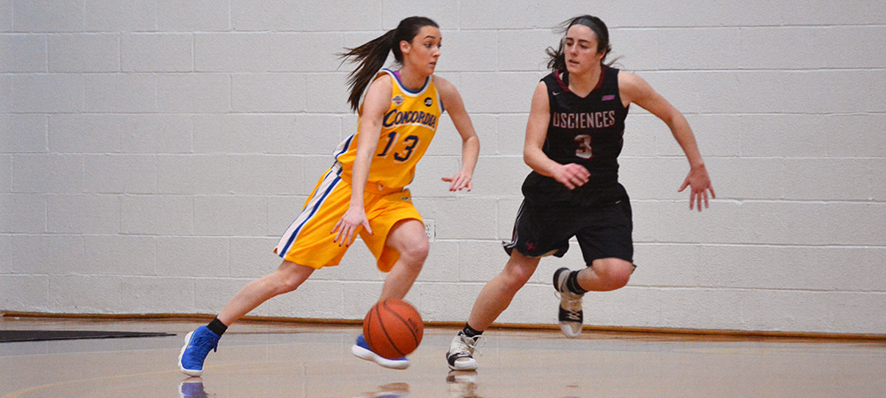 Concordia Women's Basketball Edged at Post in Season Finale, 67-64