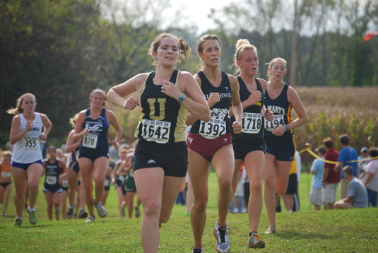 Women's Cross Country fourth at DVC Invitational