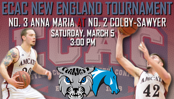 Men's Basketball Heads to ECAC Tournament on Saturday, Takes on Colby-Sawyer