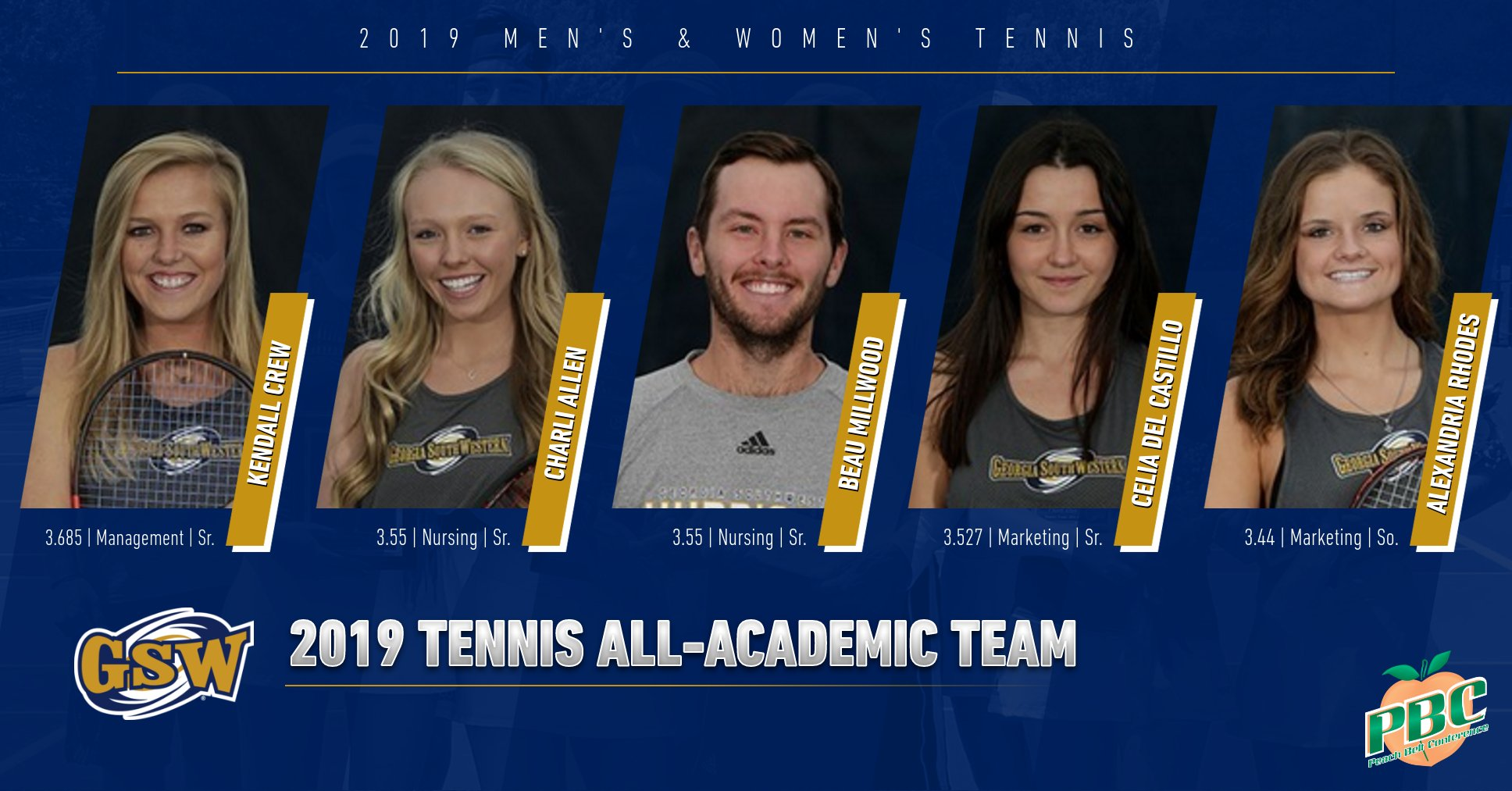 Tennis Lands Five On All-Academic Team