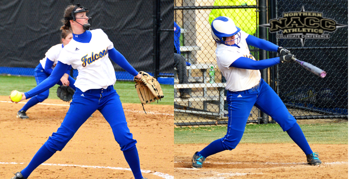 Schuh, Giesseman earn Softball All-NACC First Team honors