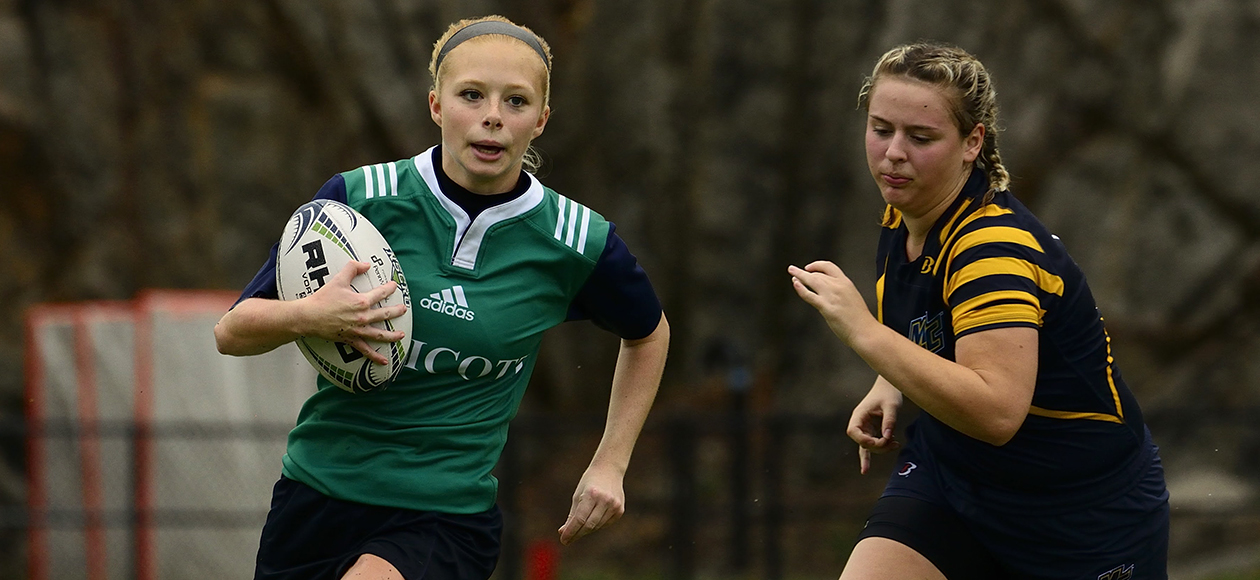 Women's Rugby Takes Third At UNH 7's Tournament