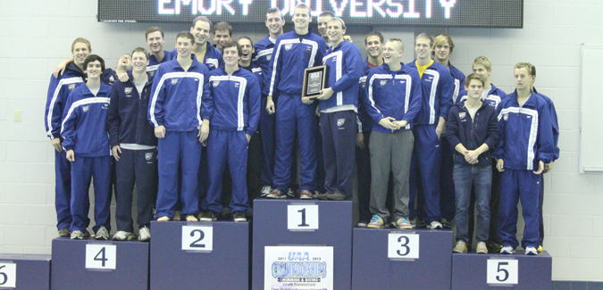 Emory Men's and Women's Swimming and Diving Claim 14th-Straight UAA Championships