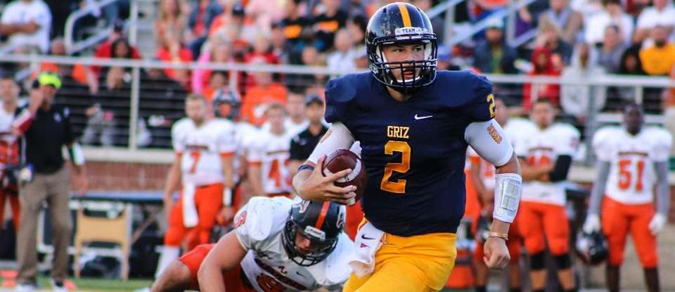 Burton's Perfect Passing Performance Fuels Football Past Earlham