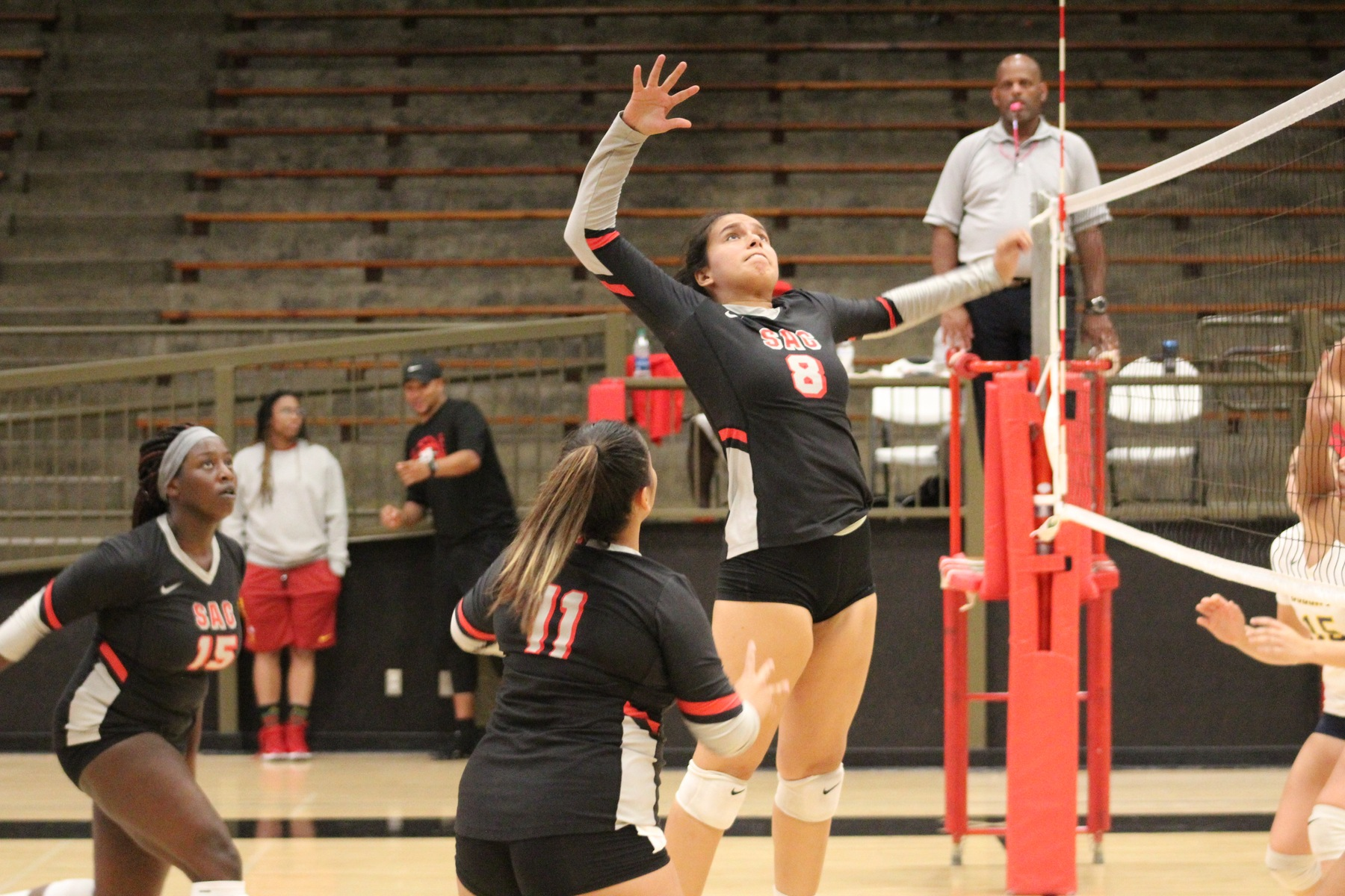 Dons Fall to Hornets in Three Sets