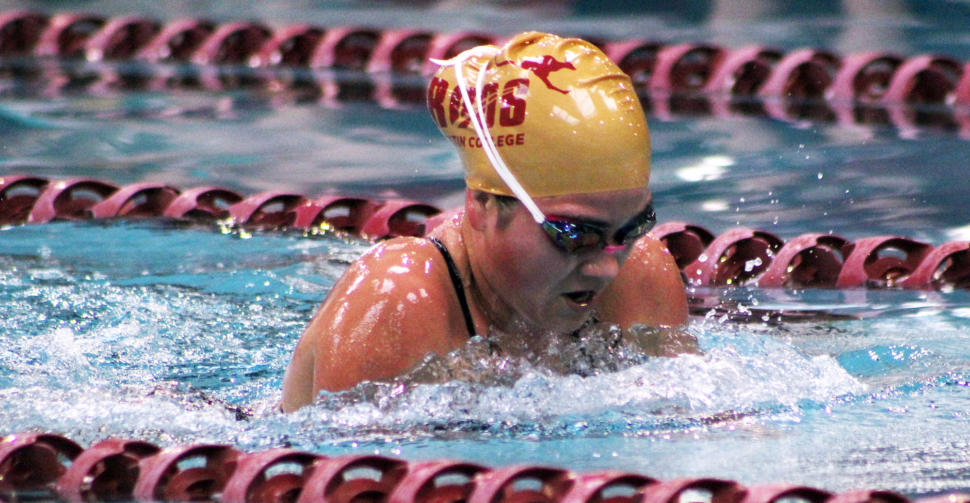 'Roo Women Swim Well but Come Up Short at McMurry