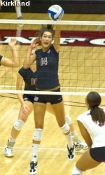 SCU Volleyball Falls 3-1 To USF