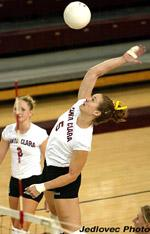 No. 14 Volleyball Sweeps Portland