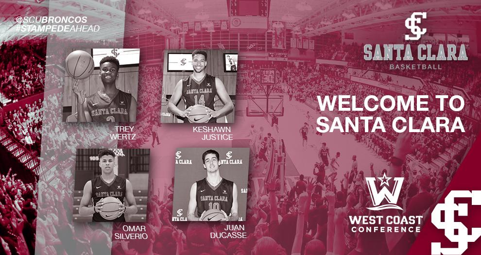 Men's Basketball Signs Four for 2018-19