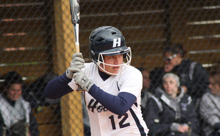 Hood And Wesley Split Softball DH Sunday To Finish A Busy Week Of CAC Action