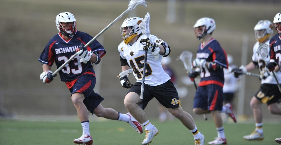 Men's Lacrosse Renews Rivalry at Towson on Tuesday Evening