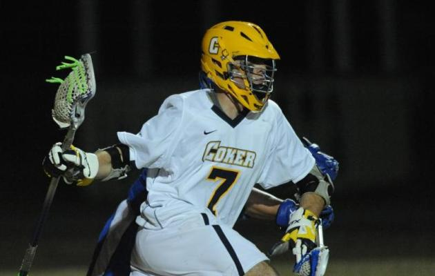 Queens Trumps Coker in Men's Lacrosse 14-6