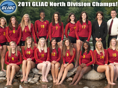 Volleyball Captures GLIAC North Championship!