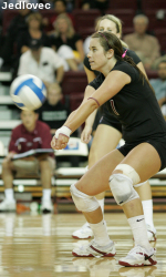 Volleyball Upsets No. 22 Long Beach State, 3-0