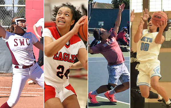 Four earn PCAC Athletes-of-the-Month