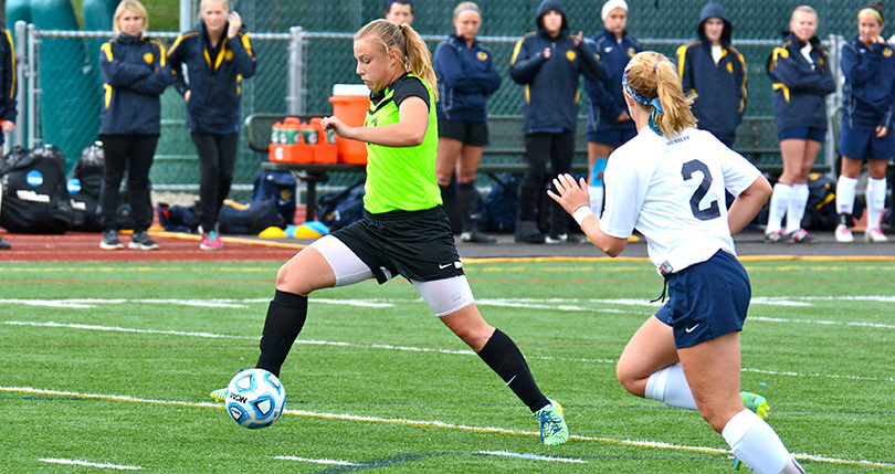 No. 5 Centre shuts out @DubC_WSoccer