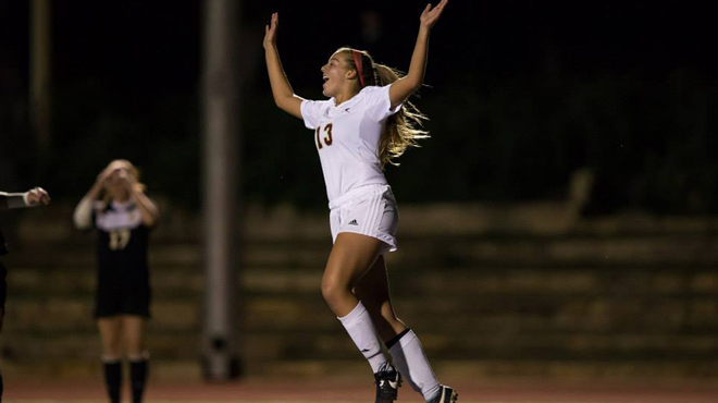 Rice's Goal Lifts Women's Soccer into SCAC Semifinals