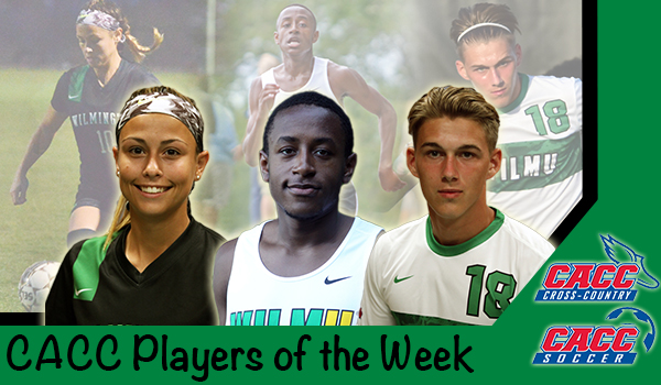 Three Wilmington Student-Athletes Honored with CACC Player of the Week Recognition