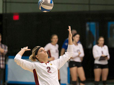 Bulldog Volleyball Extends Win Streak To 10